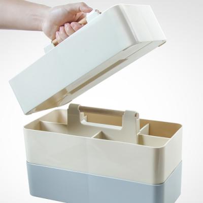 E.City_手提可疊加桌上分隔收納盒