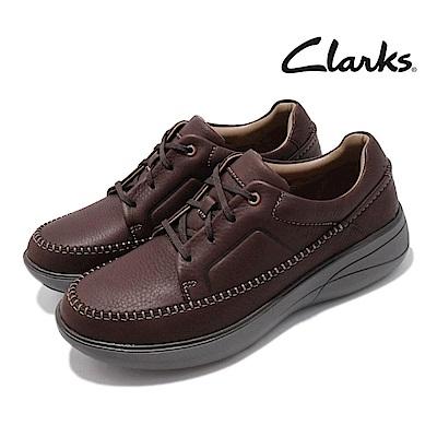 Clarks 休閒鞋 Un Rise Lace 男鞋