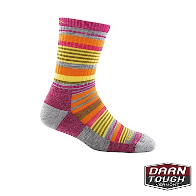 【美國DARN TOUGH】孩童羊毛襪SierraStrip健行襪(2入隨機)