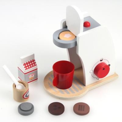 木製扮家家酒學習玩具系列-咖啡沖泡機