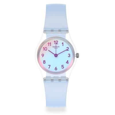 Swatch 菁華系列手錶 CASUAL BLUE 自在天藍-25mm