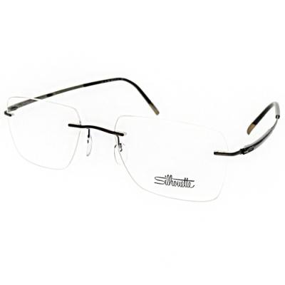 Silhouette詩樂眼鏡  純鈦輕盈無框款/槍灰#ST5540-DN 6561