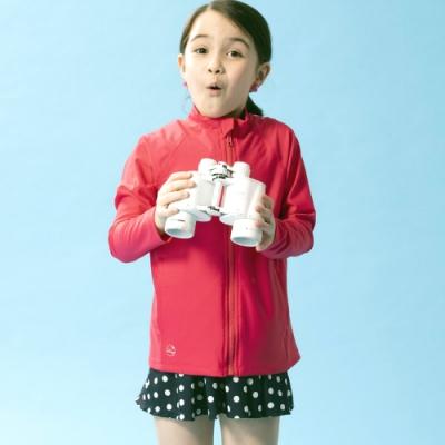 聖手牌 防曬外套 水上陸上活動兩用兒童防曬外套(粉紅)