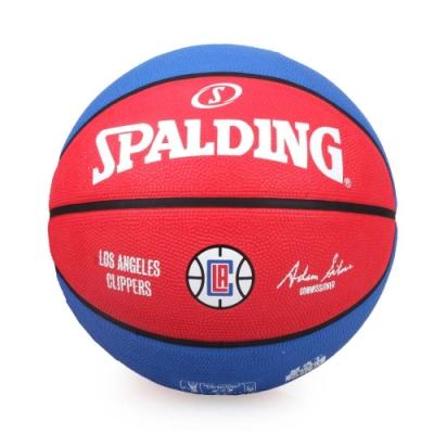SPALDING 快艇 CLIPPERS 7號籃球-室外 斯伯丁 運動 附球針 SPA83506 紅藍白