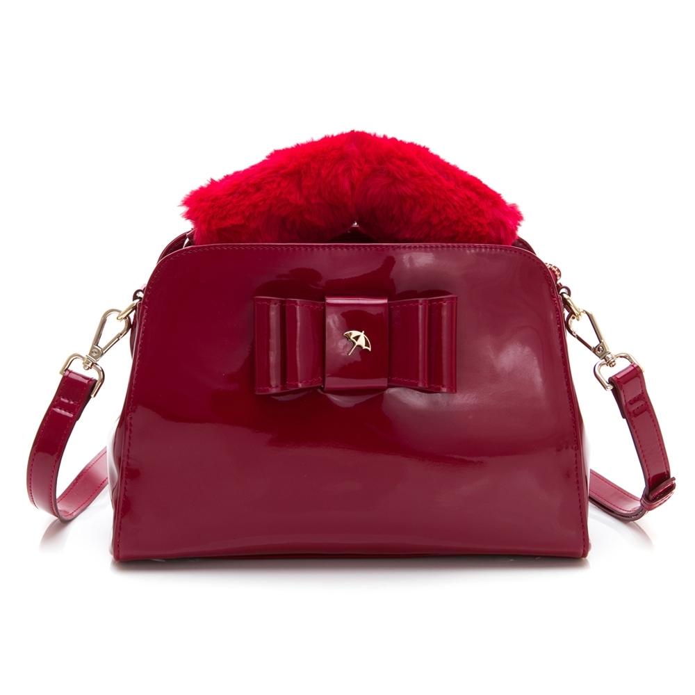 Arnold Palmer- 手提包附長背帶  MANDY系列 -紅色