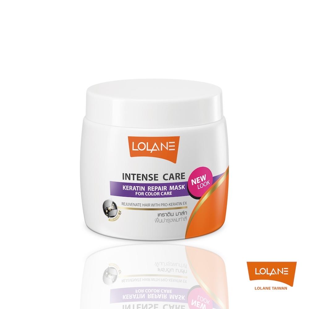 LOLANE 高效修護角蛋白髮膜-染髮受損及護色 200g (新包裝)