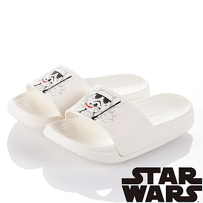 (雙11)StarWars 星際大戰-白兵 室內外拖鞋童鞋-白