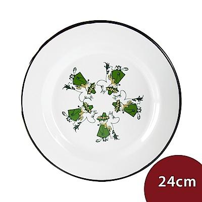 Muurla 嚕嚕米淺盤 一同出遊 24cm