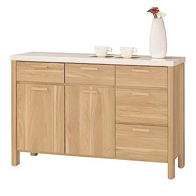 MUNA 波里斯4尺石面收納餐櫃   117.5X40.5X82cm