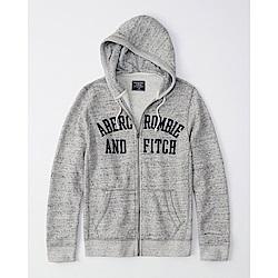 AF a&f Abercrombie & Fitch 帽T 灰色 1136