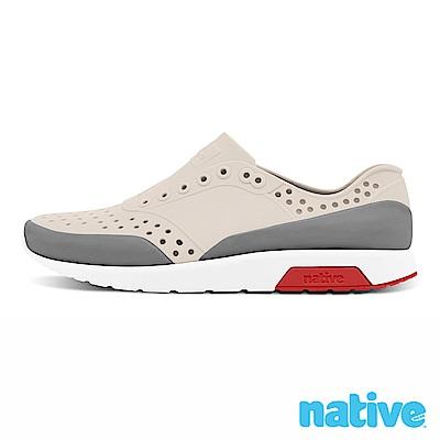 native LENNOX 小童鞋-牛奶骨x柏林灰x火炬紅