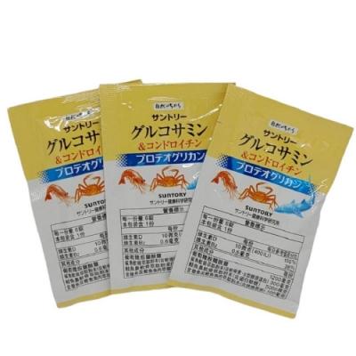 SUNTORY三得利 固力伸 葡萄糖胺+鯊魚軟骨(6錠 X 30包) (隨機加贈隨身包x1)