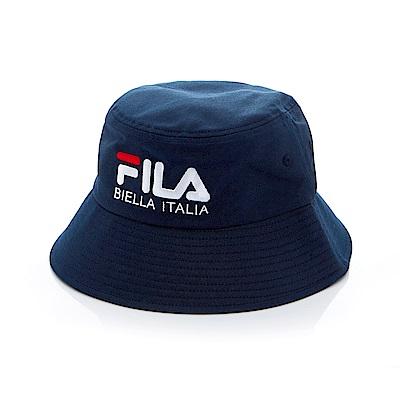 FILA 時尚筒帽-丈青 HTT-1203-NV
