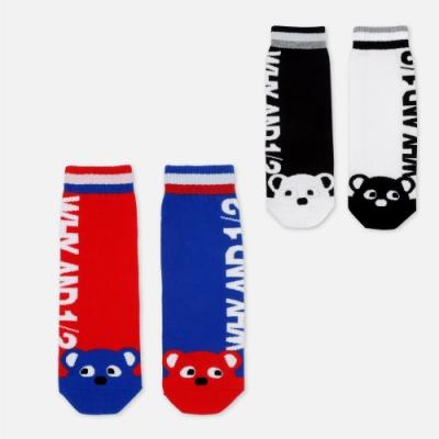WHY AND 1/2 mini LOGO短襪 多色可選