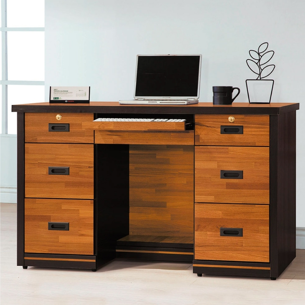 Bernice-約克4.5尺書桌-132×60×82cm