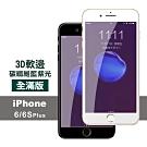 iPhone 6/6S Plus 藍紫光 軟邊 碳纖維 防刮 保護貼
