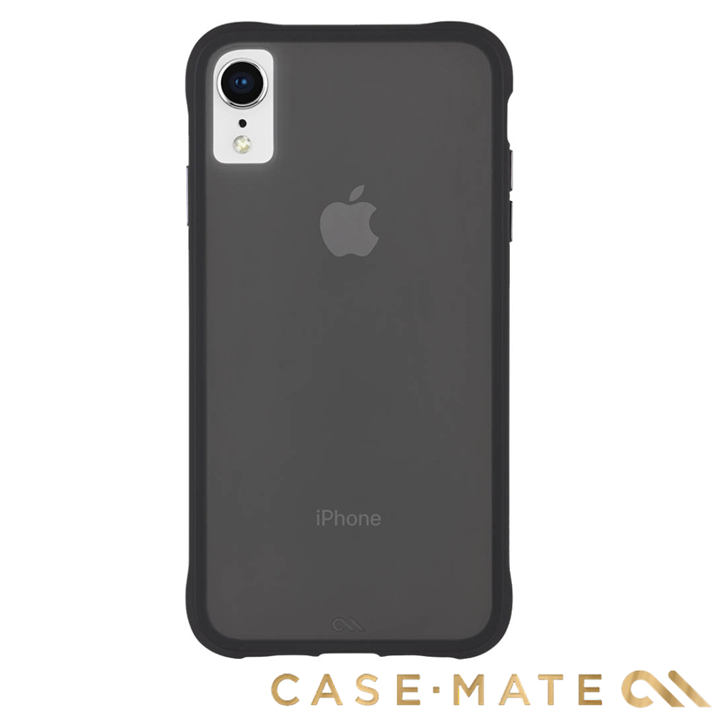 美國 Case-Mate iPhone XR Tough Matte 強悍防摔殼 - 透黑