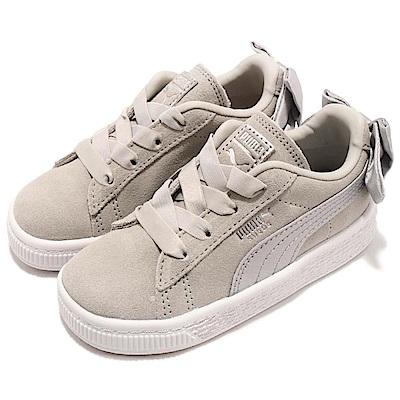 Puma 休閒鞋 Suede Bow 運動 童鞋
