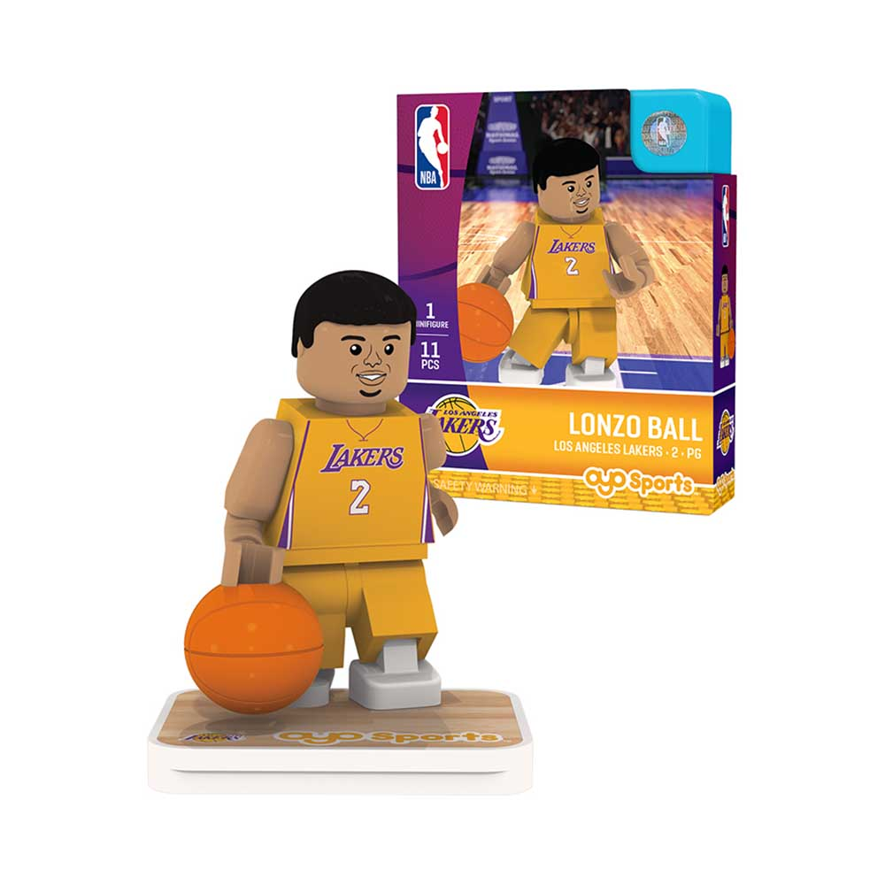OYO Sports NBA 球員公仔 湖人隊 Lonzo Ball