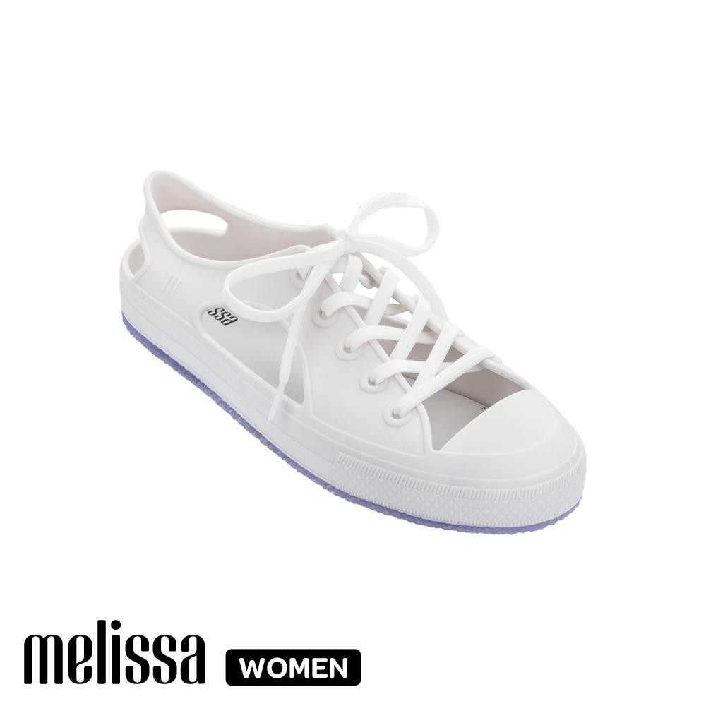 Melissa潮流簍空休閒鞋 白