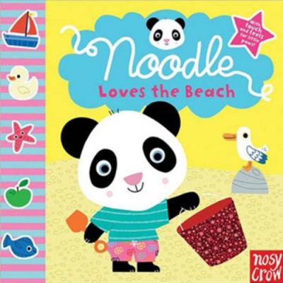 Noodle Loves The Beach:Noodle 的海邊渡假觸摸書(美國版)