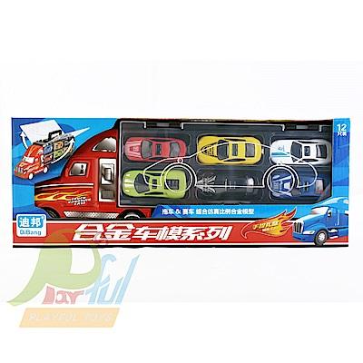 Playful Toys 頑玩具 合金貨櫃車