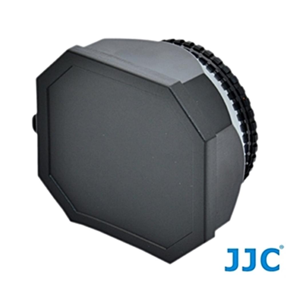 JJC矩形4:3長方形螺紋37mm遮光罩螺牙太陽罩LH-DV37B適DV攝錄影機