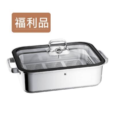 福利品|德國WMF 蒸煮鍋 6.5L (矽膠圈玻璃蓋版本)