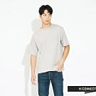 H:CONNECT 韓國品牌 男裝 - 素面口袋圓領上衣 - 灰