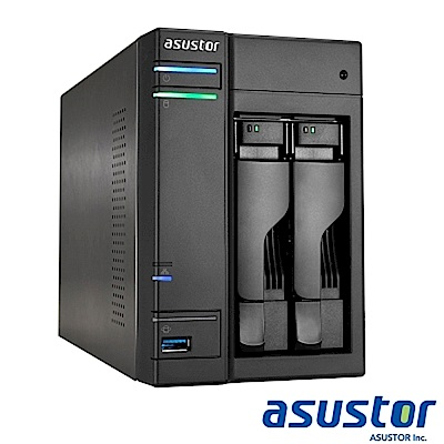 【促銷組合】ASUSTOR AS-6302T 2 bay+Seagate 2TB*2