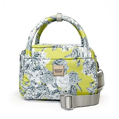 VOVAROVA空氣包-氣質兩用包-花漾 • 黃