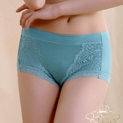 內褲 無痕彈力透氣小褲-綠  La Queen