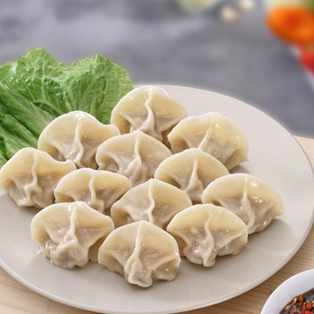 任選_四海游龍-鼎尚鮮 手工高麗菜豬肉水餃(20入)