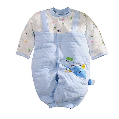 三層棉護手兩用兔裝 藍 b0097 魔法Baby