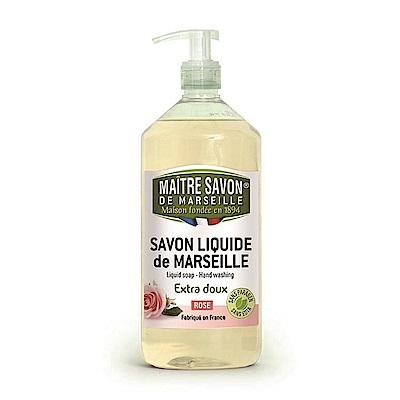 法國玫翠思 馬賽液體皂 1000 ML 玫瑰