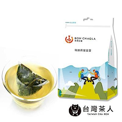 台灣茶人 瑞峰蔗蜜金萱三角茶包(18入/袋)