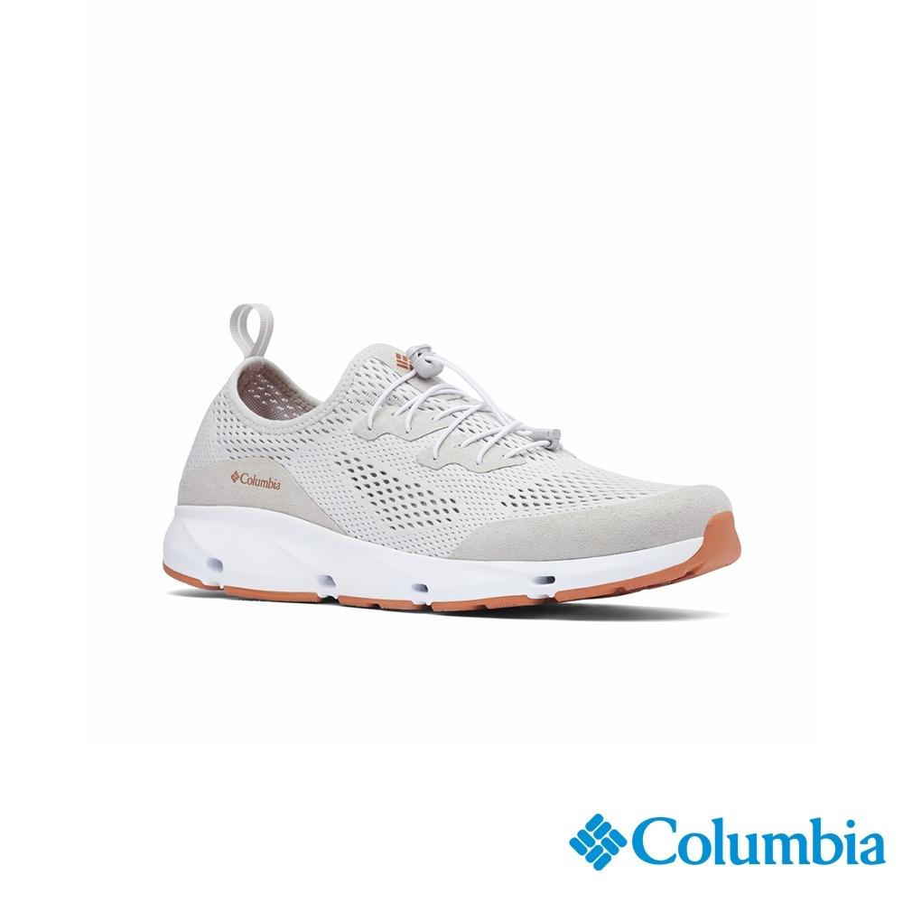 Columbia 哥倫比亞 男款- 多功能透氣健走鞋-灰色 UBM00910GY