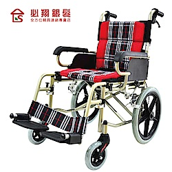 必翔銀髮 輕便看護輪椅-PH-164A(未滅菌)