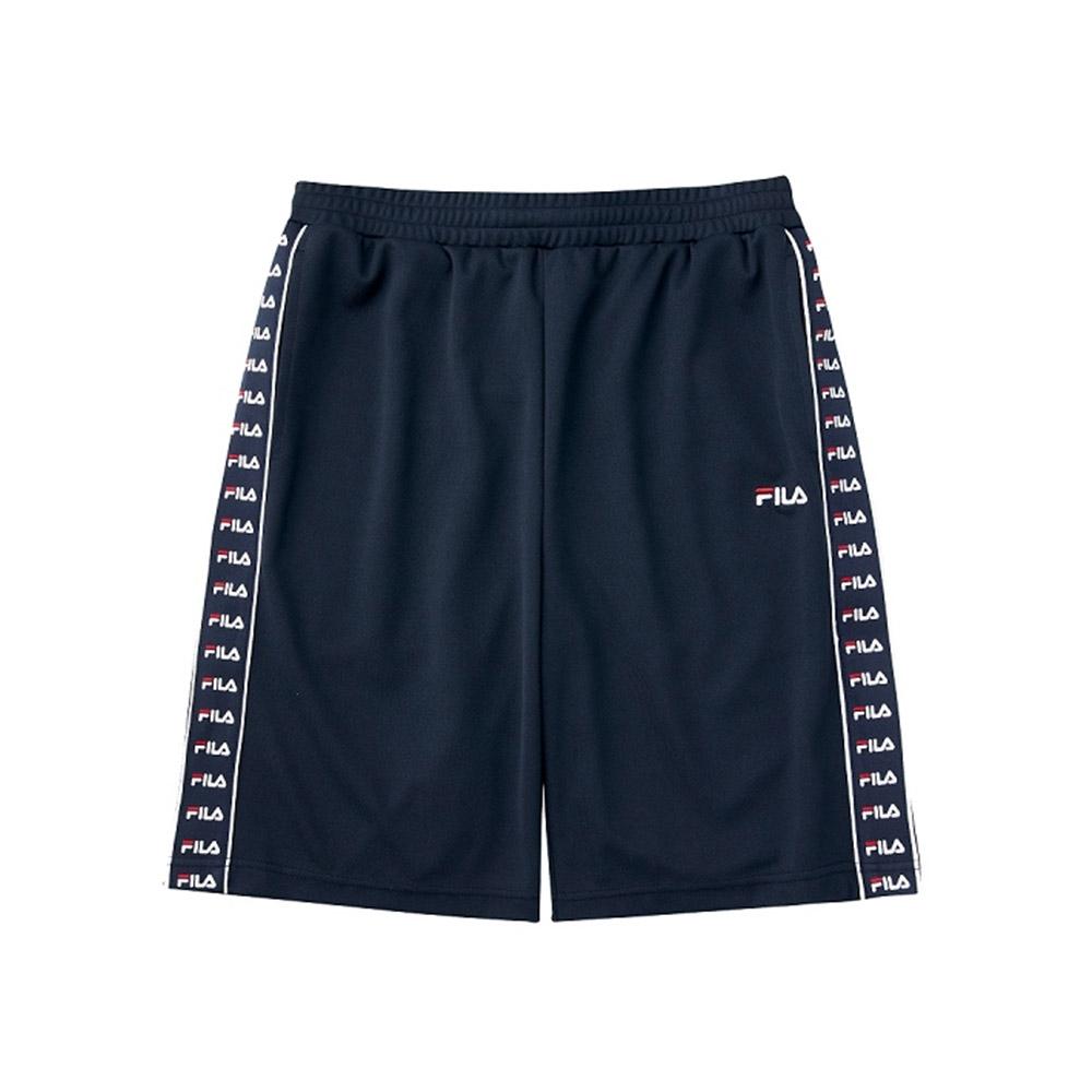 FILA 吸濕排汗短褲-丈青 1SHV-1472-NV
