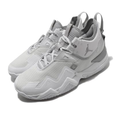 Nike 籃球鞋 Westbrook One 運動 男鞋 避震 支撐 包覆 明星款 喬丹 球鞋 白 銀 CJ0781100