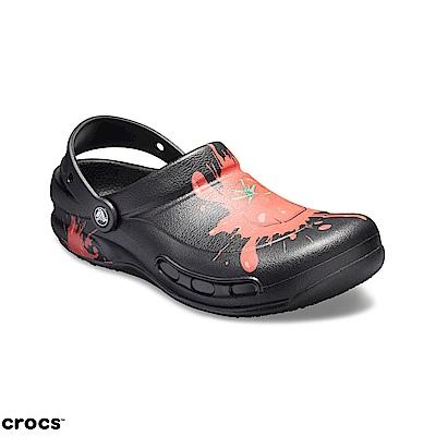 Crocs 卡駱馳 (中性鞋) Bistro圖紋廚師鞋 204044-0BU