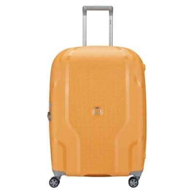 【DELSEY】CLAVEL-25吋旅行箱-黃色 00384582005