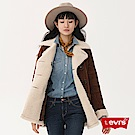 Levis 女款 大衣 英式復古燈心絨 雙排扣 內裏棉花絨
