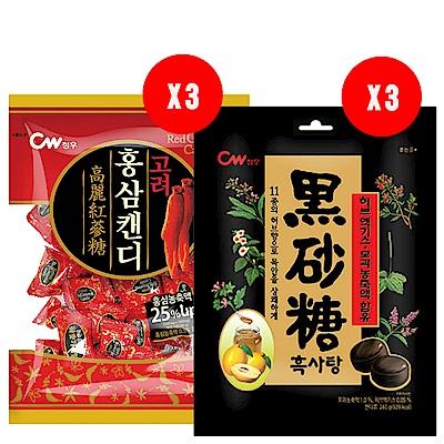 韓國CW風味糖-限量組(6袋)