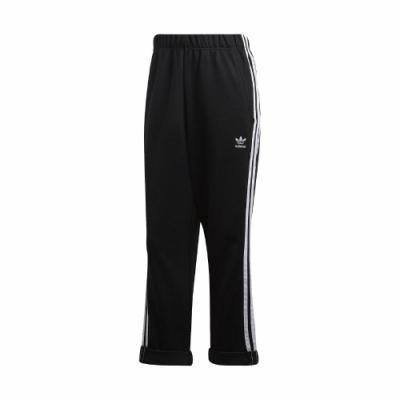 adidas 九分褲 Boyfriend Pants 女款 愛迪達 三葉草 反折 男友褲 穿搭 黑 白 GD2259