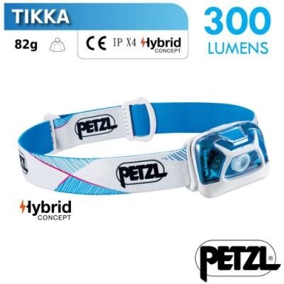 法國 Petzl TIKKA 超輕量省電頭燈(300流明)_白