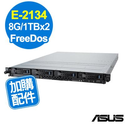 ASUS RS300-E10 E-2134/8G/1TBx2/FD