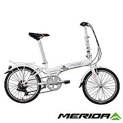 《MERIDA》美利達 飛翔20 折疊車 白 20輪徑/7速