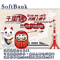 日本上網卡 7天無限上網吃到飽 保證不降速上網卡