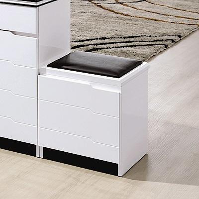 AS-查帝1.3尺雙面鞋凳-40x32x45cm
